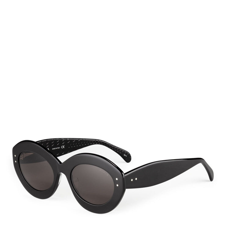 Black acetate sunglasses