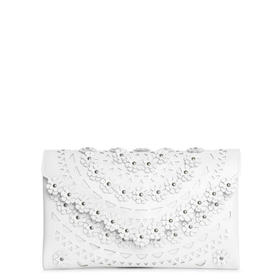 Oum small flower envelope clutch