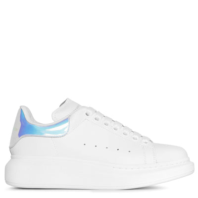 White and holographic classic sneakers