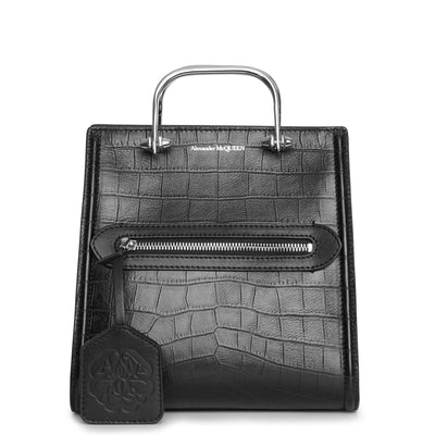 The Short Story soft croc bag