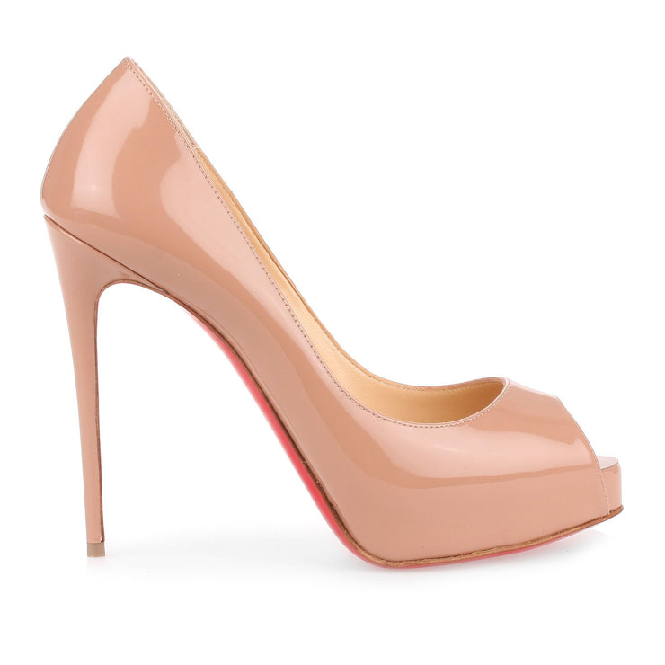 New Very Prive 120 patent nude pump