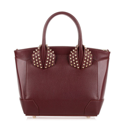 Eloise small bordeaux leather bag