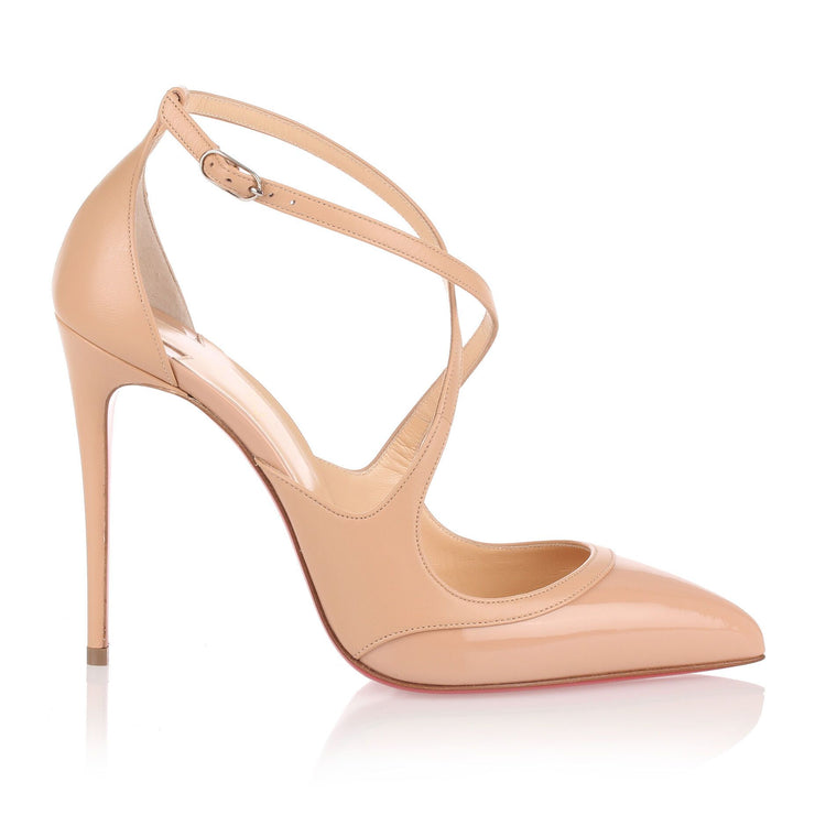 Crissos 100 beige leather pump