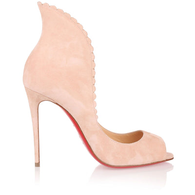 Pijonina 100 powder suede pump