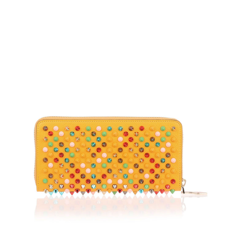 Panettone yellow multi-tone spikes wallet