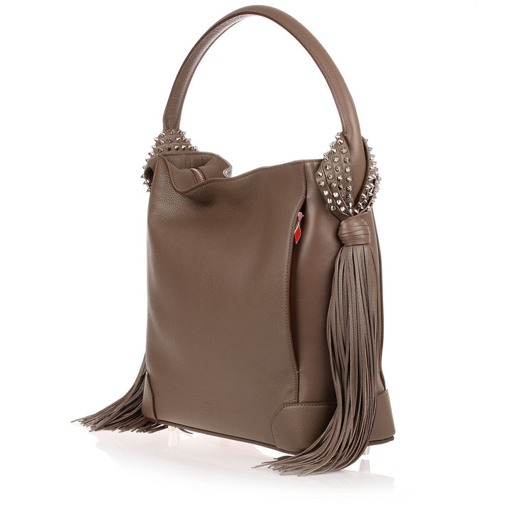 Eloise Hobo mushroom leather bag
