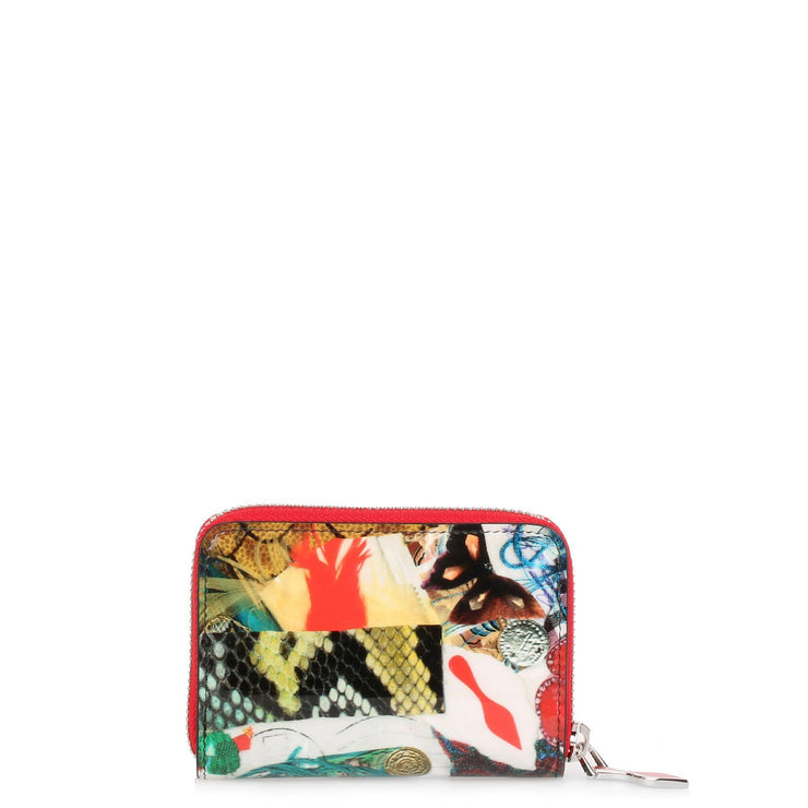Panettone patent trashprint coin purse