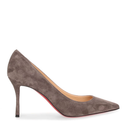 Decoltish 85 grey suede pump