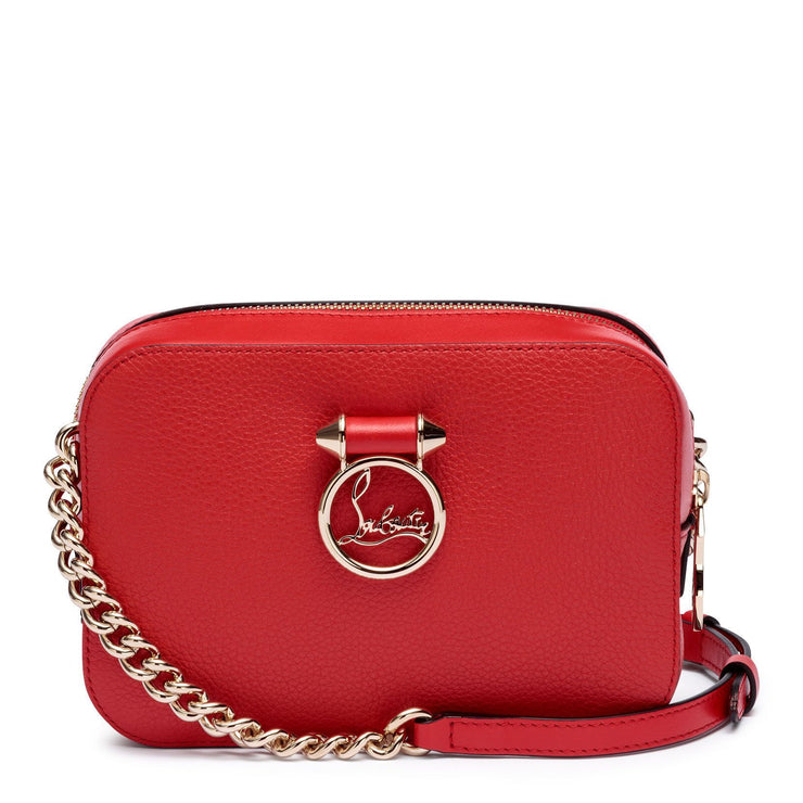Rubylou mini red leather bag