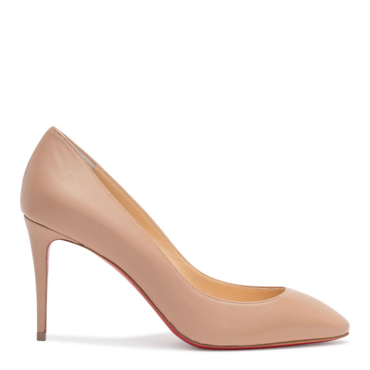 Eloise 85 Beige Leather Pumps