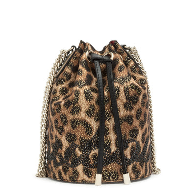 Marie Jane lurex bucket bag