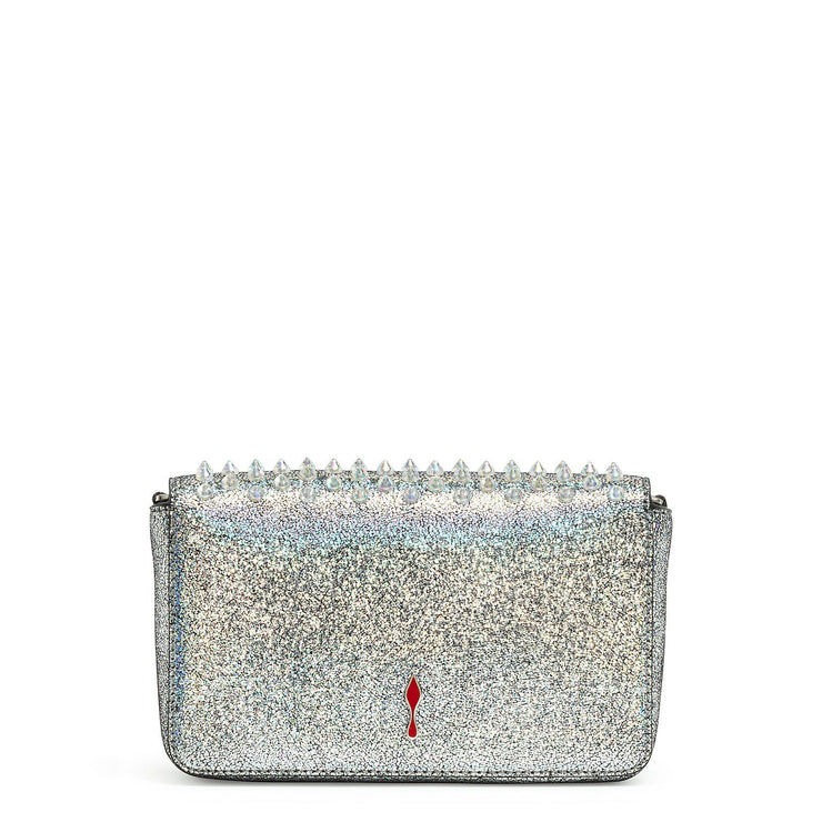Zoompouch silver leather pouch
