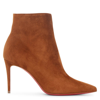 So Kate 85 tan suede ankle boots