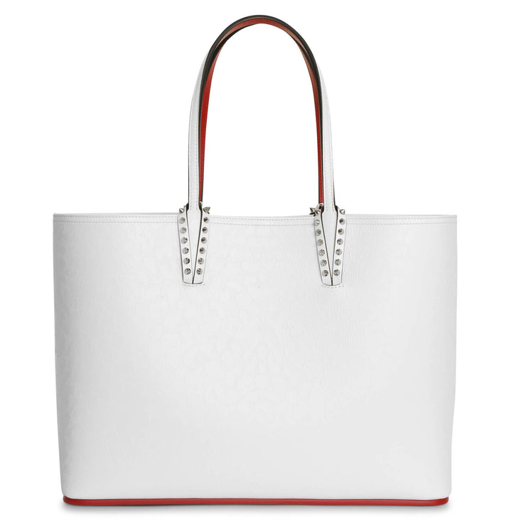 Cabata large white tote bag