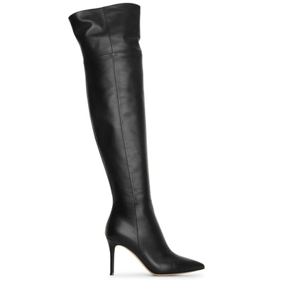 Valeria 85 over knee leather boots