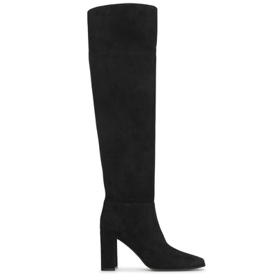 Square toe 85 high boots