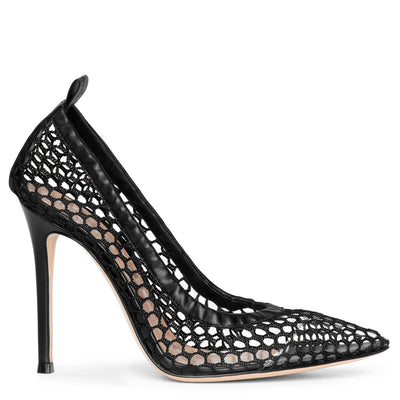 Alisia 105 fishnet pumps