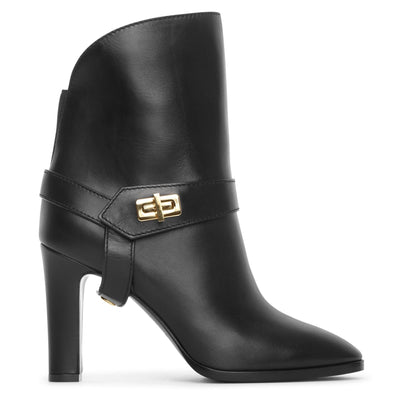 Eden leather ankle boots