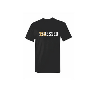 Blessed Not Stressed - Black