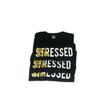 Load image into Gallery viewer, Blessed Not Stressed - Black