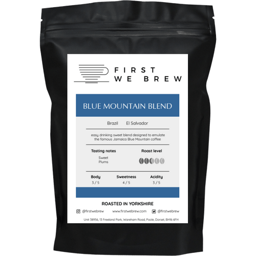 Blue Mountain Blend - First We Brew