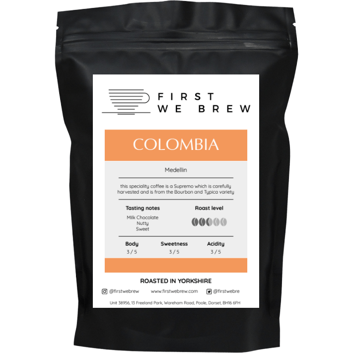 Colombia Medellin - First We Brew