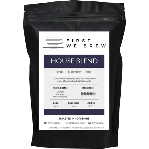 House Blend - First We Brew