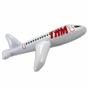 INFLATABLE RED AIRPLANE 60 CM - ROWONE