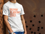 Load image into Gallery viewer, DELIVERY AT AIRCRAFT DOOR T-SHIRT – GREY - ROWONE