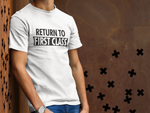 Load image into Gallery viewer, RETURN TO FIRST CLASS T-SHIRT – GREY - ROWONE