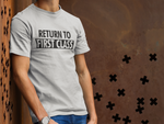 Load image into Gallery viewer, RETURN TO FIRST CLASS T-SHIRT – BLACK - ROWONE