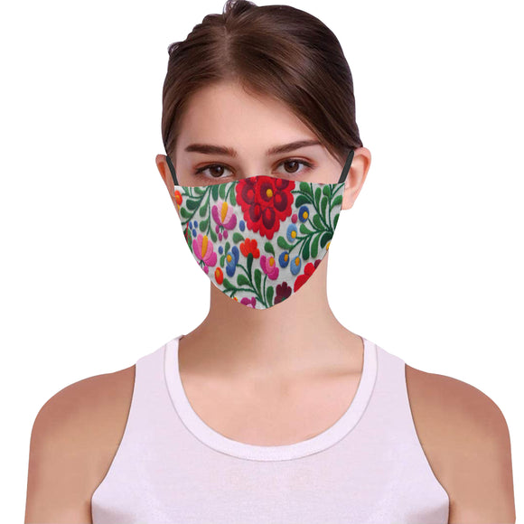Women Floral fashion Face Mask Wedding face cover iP