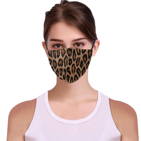Women fashion face cover Face Mask Leopard print Wedding Face mask IP
