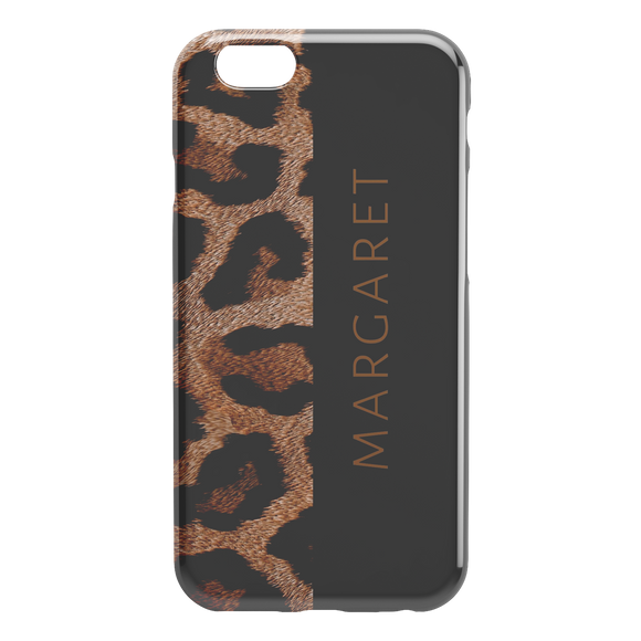 Personalized Phone Case Animal Print