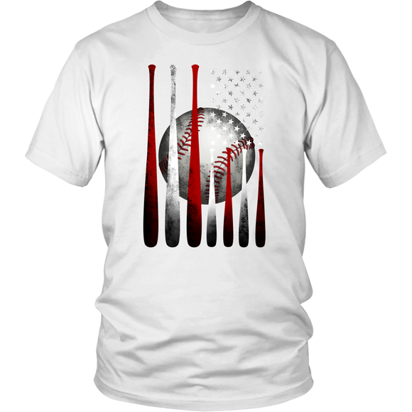 T-shirt baseball US Flag Patriotic Shirt American Independence Patriotic Shirt - You Can Print