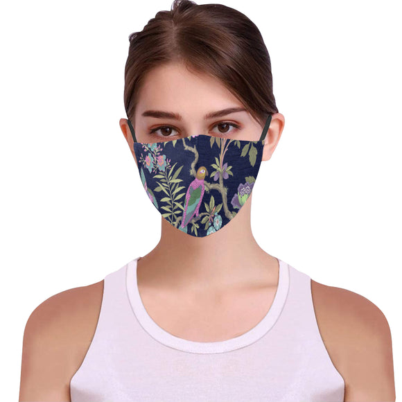 Floral Face Cover Woman's Face Mask iP