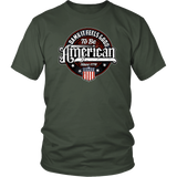 T-Shirt Feels Good to Be American Patriotic Tee Independence Day Shirt - You Can Print