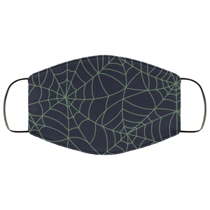 Face Masks Halloween Themed Spider Net Mask Black Spider Web Mask  Halloween party - You Can Print