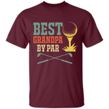 T-shirt Golf Grandpa funny Best Grandpa By Par shirt for gift tee CU - You Can Print