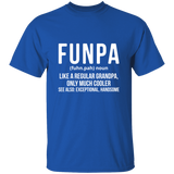 T-shirt Funpa is a funny Grandpa shirt gift for grand dad - You Can Print