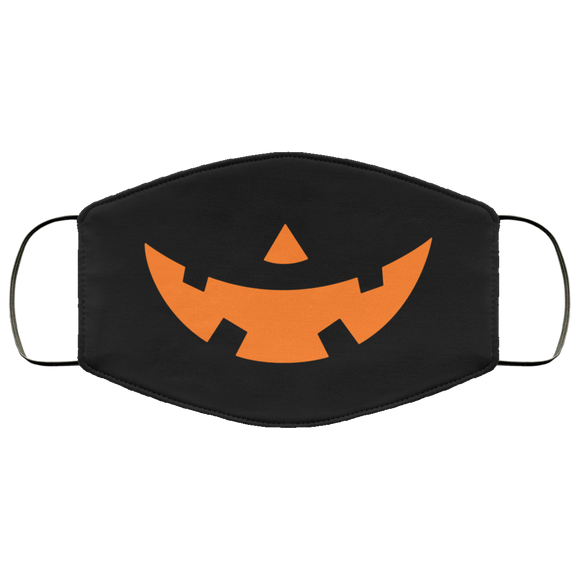 Funny Halloween Face Mask Pumpkin Smile