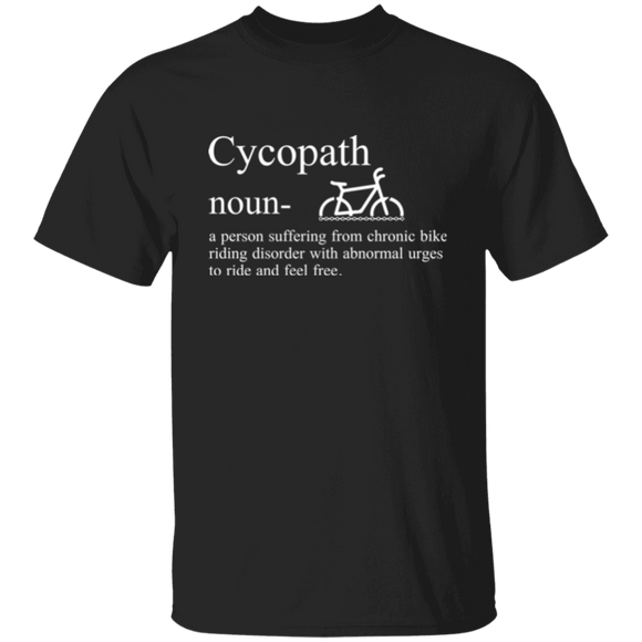 T-Shirt Cyclopath Funny Cycling Shirt gift for bike lover  CC