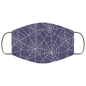 Face Masks Halloween Themed Party Face Covering Halloween Party Face Mask Spider Web Spider Net - You Can Print