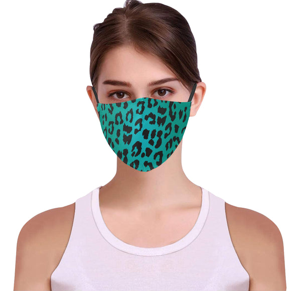 Women fashion print Face mask Party face cover iP
