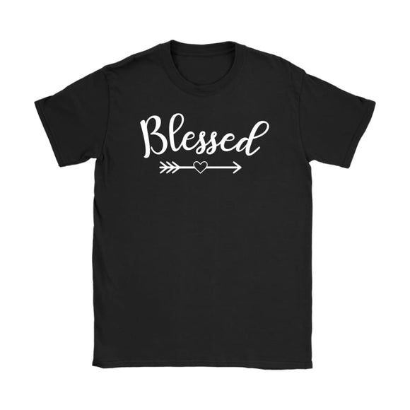 Blessed - Blessed Shirt - Thanksgiving T Shirt - Fall T Shirt - Women's - You Can Print