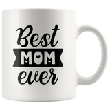 Breakfast Coffee Mug For Mother - Best Mom Ever - Mother's Day Gift - You Can Print