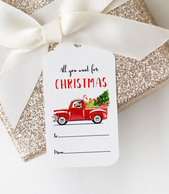 Christmas party gift Tag,Printable Christmas Gift Tag,digital Christmas gift Tag, GT - You Can Print