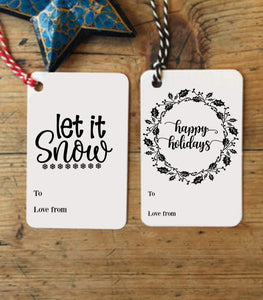 Christmas Tag,Printable Christmas gift Tag,digital Christmas gift tag,Merry Christmas GT - You Can Print