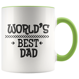 Coffee Mug World's best Dad Father's Day gift - You Can Print