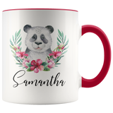 Custom Panda Mug, Panda Gifts for Girls, Panda Coffee Mug,Panda Cup,Personalized Panda Gift,Animal Mug,Panda Bear Mug - You Can Print